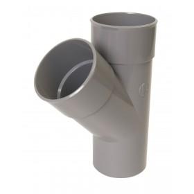 NICOLL Culotte MF simple 45° - BZ14 - PVC gris - diamètre 160 mm NICOLL BZ14