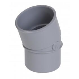 NICOLL Coude mâle-femelle 20° - CJ2 - PVC gris - diamètre 50 mm NICOLL CJ2