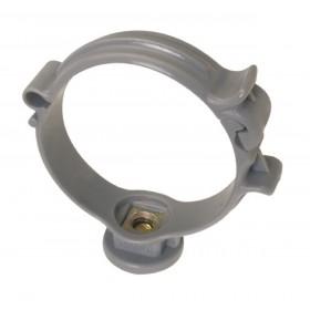 NICOLL Collier monobloc pour tube de descente CM32 - PP gris - diamètre 32 mm NICOLL CM32