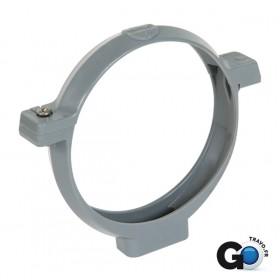 NICOLL Collier PVC à bride COP gris - diamètre 75 mm NICOLL COP