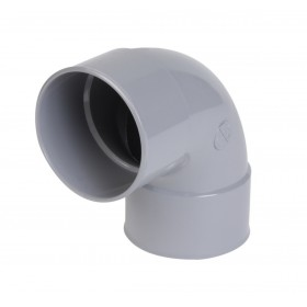 NICOLL Coude simple Femelle femelle 87°30 PVC gris - diamètre 75 mm NICOLL CP88