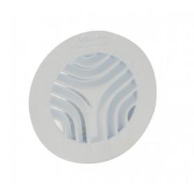 NICOLL Grille ronde intérieure avec moustiquaire PVC diamètre 100mm GATM100 GATM100