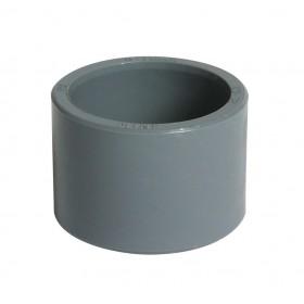NICOLL Réduction incorporée - I63F - PVC anthracite - diamètre 63/50 mm NICOLL I63F