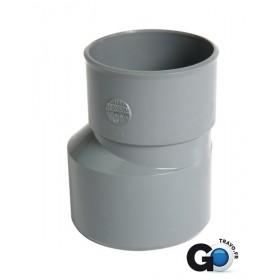 NICOLL Réduction extérieure excentrée mâle-femelle - IJ1 - PVC gris - diamètre 50/40 mm NICOLL IJ1