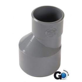 NICOLL Réduction extérieure excentrée mâle-femelle - IL2 - PVC gris - diamètre 63/40 mm NICOLL IL2