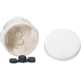 SCHNEIDER Boite de dérivation avec embouts - diamètre 60 - IP55 - blanc polaire.Mureva Box IMT05021