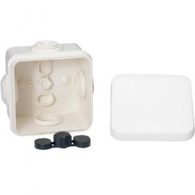 SCHNEIDER Boite de dérivation avec embouts - 65x65x45 - IP55 - blanc polaire Mureva Box IMT05022