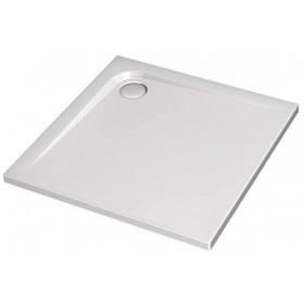 IDEAL STANDARD Receveur ULTRA FLAT carré, 90 x 90 cm, extra-plat, avec traitement anti-dérapant K5173YK