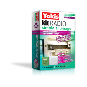 Yokis KIT RADIO SIMPLE ALLUMAGE POWER 2000 Watts Réf: KITRADIOSAP Code: 5454515 KITRADIOSAP