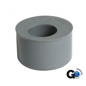 NICOLL Tampon de réduction mâle-femelle simple - L3 - PVC gris - diamètre 63/32 mm NICOLL L3