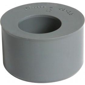 NICOLL Tampon de réduction mâle-femelle simple - L5 - PVC gris - diamètre 63/50 mm NICOLL L5