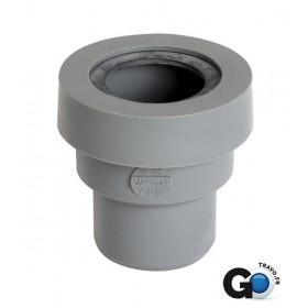 NICOLL Manchette diamètre 40 mm pour sorties d'appareils sanitaires système J PVC mâle-femelle NICOLL MAHJ