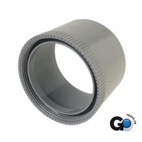 NICOLL Manchette d'adaptation femelle PVC gris - pour bouchon diamètre 100 NICOLL MFA10