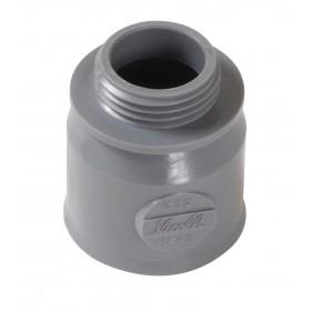 NICOLL Manchette d'adaptation femelle - MFA3 - PVC gris - diamètre 32 mm NICOLL MFA3