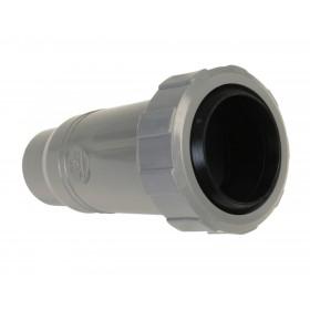 NICOLL Manchon de dilatation mâle-femelle simple - MH - PVC gris - diamètre 40 mm NICOLL MH
