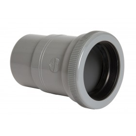 NICOLL Manchon de dilatation MF pour canalisation horizontale - MRH - PVC gris - diamètre 80 m NICOLL MRH