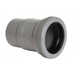 NICOLL Manchette de réparation femelle - MTH227 - PVC gris - diamètre 100 mm NICOLL MTH227