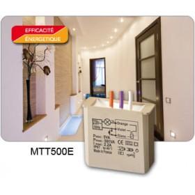 Yokis TELERUPTEUR TEMPORISE ENCASTRE 500 watts Réf: MTT500E Code: 5454054 MTT500E