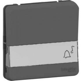 SCHNEIDER Bouton poussoir porte-etiquette - composable - IP55 - IK08 - gris Mureva Styl MUR34029