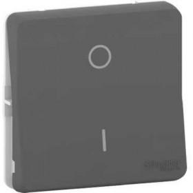SCHNEIDER Interrupt bipolaire - composable - IP55 IK08 - connex auto - gris Mureva Styl MUR35034