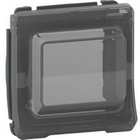 SCHNEIDER Adaptateur pour fonction 45X45 - composable - IP55 - IK07 - gris Mureva Styl MUR35110