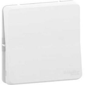 SCHNEIDER Bouton poussoir - composable - IP55 IK08 - connexion auto - blanc Mureva Styl MUR39027