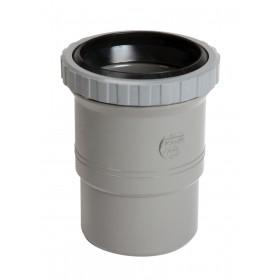 NICOLL Manchon de dilatation simple MF pour canalisation verticale - MX - PVC gris - diamètre NICOLL MX
