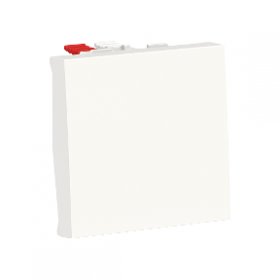 SCHNEIDER Interrupteur va-et-vient 10A Unica Blanc Automatique NU320318F NU320318F