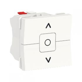 SCHNEIDER Interrupteur de volet roulant 3 touches 6A Unica Blanc Automatique NU320818 NU320818