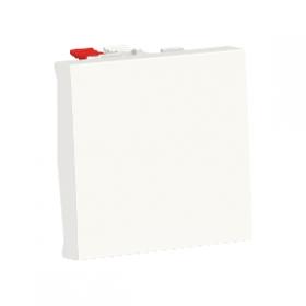 SCHNEIDER Poussoir à bouton NO/NF 10A Unica Blanc Automatique NU323618 NU323618