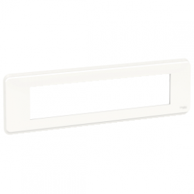 SCHNEIDER 10 Modules Blanc Unica Pro plaque de finition NU411018 NU411018