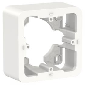 SCHNEIDER Boite saillie apparente Unica Blanc 2 modules NU840218 NU840218