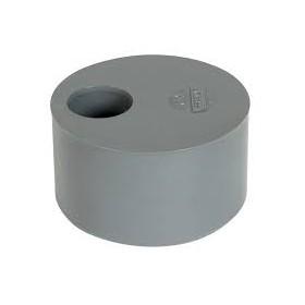 NICOLL Tampon de réduction MF simple PVC gris - diamètre 75/50 mm NICOLL P5