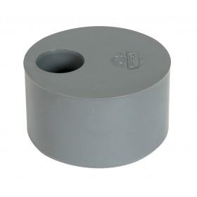 NICOLL Tampon de réduction MF simple PVC gris - diamètre 75/63 mm NICOLL P6