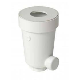 NICOLL Siphon urinoir avec joint élastomère QUYF QUYF