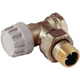 COMAP Robinet thermostatique de radiateur R808 15 X 21 équerre M28 réf. R808604 R808604