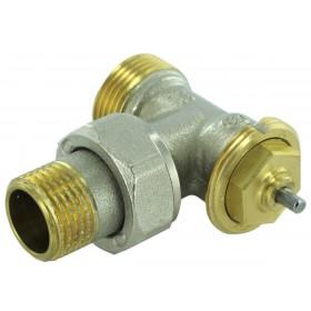COMAP Robinet thermostatique de radiateur R808E 12 x 17 équerre M28 réf. R808703 R808703