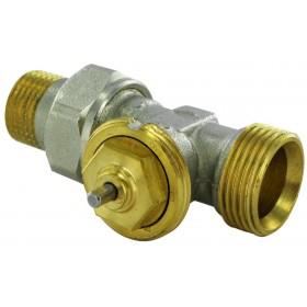 COMAP Robinet thermostatique de radiateur R809C 15 X 21 coude M28 réf. R809604C R809604C