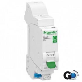 SCHNEIDER Disjoncteur XE 1P+N 6A C EMBROCHABLE R9EFC606