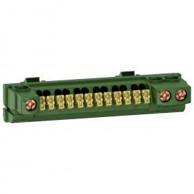 SCHNEIDER Bornier de terre pour tableau électrique Rési9 R9H13409 R9H13409