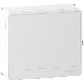 SCHNEIDER Porte style blanc coffret 1x13 modules rési9 R9H13418 R9H13418