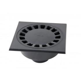 NICOLL Siphon de cour à emboîture extérieure verticale PVC diamètre 75-63/90 longueur 2 SC756