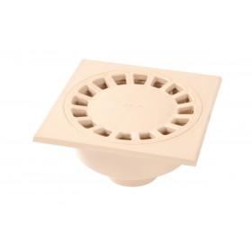 NICOLL Siphon de cour sortie verticale diamètre 75/63mm sable SC756S SC756S