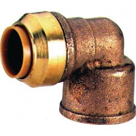 COMAP Coude 90° T090G instantané tectite femelle-femelle D18-15x21 pour tube cuivre PE T090G1812