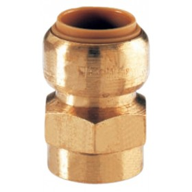 COMAP Manchon T270G instantané tectite femelle-femelle D14-12x17 pour tube cuivre PER T270G1438