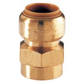 COMAP Manchon T270G instantané tectite femelle-femelle D18-20x27 pour tube cuivre PER T270G1834