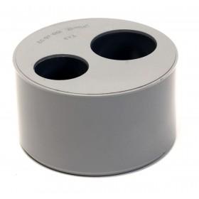 NICOLL Tampon de réduction MF double - T43 - diamètre 100/40/32 mm NICOLL T43