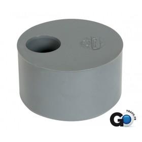 NICOLL Tampon de réduction simple MF - T9 - PVC gris - diamètre 100/90 mm NICOLL T9