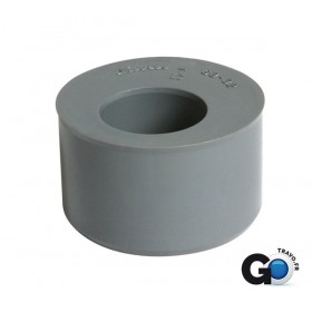 NICOLL Tampon de réduction mâle PVC tube DN 100 gris - diamètre 93/40 mm NICOLL TT4