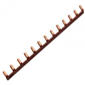 HAGER Barre de pontage 1P 63A languette 10mm marron 13M KB163P